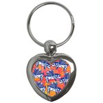 Little Flying Pigs Key Chains (Heart)  Front