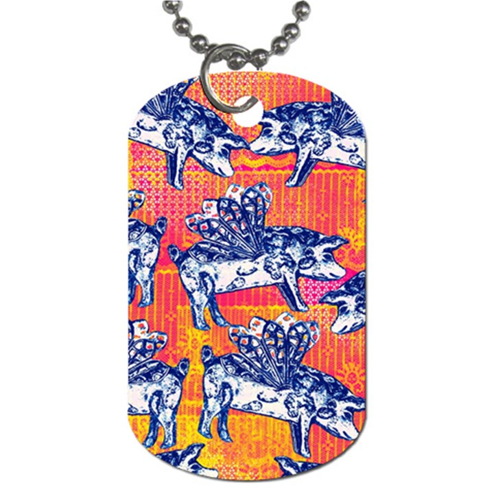 Little Flying Pigs Dog Tag (One Side)