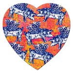 Little Flying Pigs Jigsaw Puzzle (Heart) Front