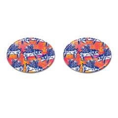 Little Flying Pigs Cufflinks (oval)