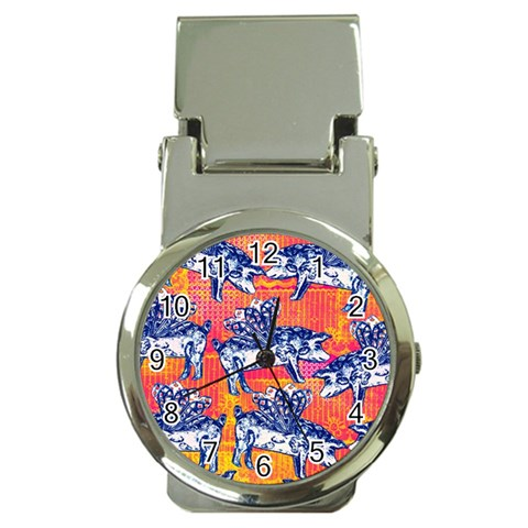 Little Flying Pigs Money Clip Watches