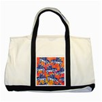 Little Flying Pigs Two Tone Tote Bag Front