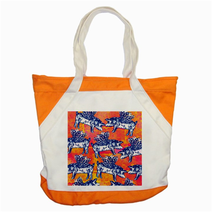 Little Flying Pigs Accent Tote Bag