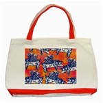 Little Flying Pigs Classic Tote Bag (Red) Front