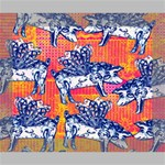 Little Flying Pigs Canvas 10  x 8  10  x 8  x 0.875  Stretched Canvas