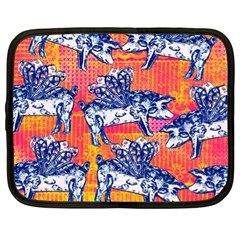 Little Flying Pigs Netbook Case (xl)