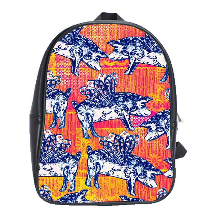 Little Flying Pigs School Bags(Large)