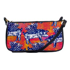 Little Flying Pigs Shoulder Clutch Bags