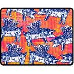 Little Flying Pigs Fleece Blanket (Medium)  60 x50 Blanket Front