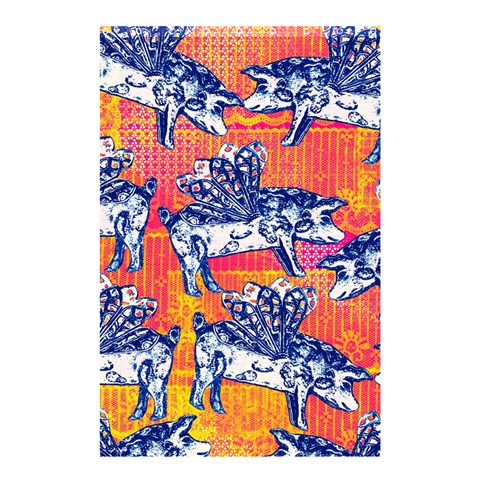 Little Flying Pigs Shower Curtain 48  x 72  (Small)