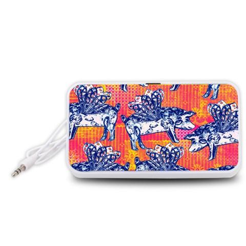 Little Flying Pigs Portable Speaker (White)