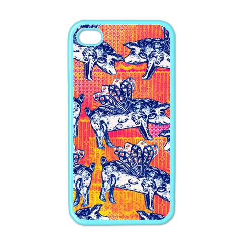 Little Flying Pigs Apple iPhone 4 Case (Color)