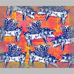 Little Flying Pigs Deluxe Canvas 20  x 16   20  x 16  x 1.5  Stretched Canvas