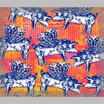 Little Flying Pigs Deluxe Canvas 24  x 20   24  x 20  x 1.5  Stretched Canvas