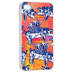 Little Flying Pigs Apple Iphone 4/4s Seamless Case (white)