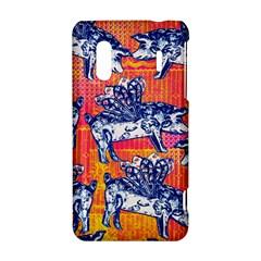 Little Flying Pigs HTC Evo Design 4G/ Hero S Hardshell Case