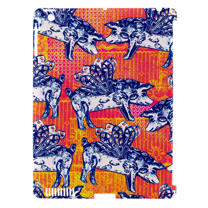 Little Flying Pigs Apple iPad 3/4 Hardshell Case (Compatible with Smart Cover)
