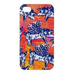 Little Flying Pigs Apple Iphone 4/4s Premium Hardshell Case
