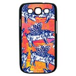 Little Flying Pigs Samsung Galaxy S III Case (Black) Front