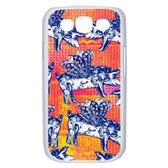 Little Flying Pigs Samsung Galaxy S III Case (White)