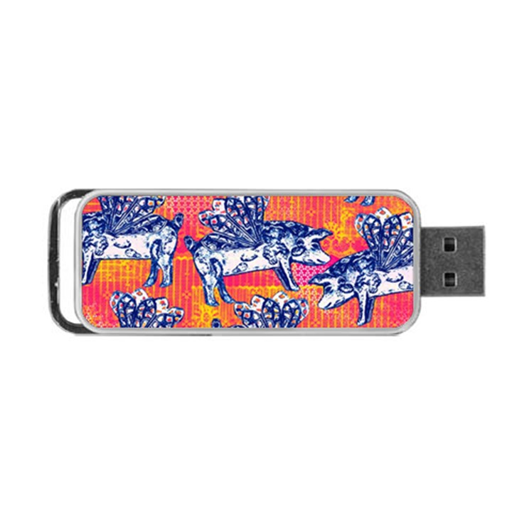 Little Flying Pigs Portable USB Flash (One Side)
