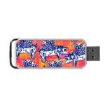Little Flying Pigs Portable USB Flash (Two Sides) Front