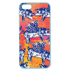 Little Flying Pigs Apple Seamless iPhone 5 Case (Color)
