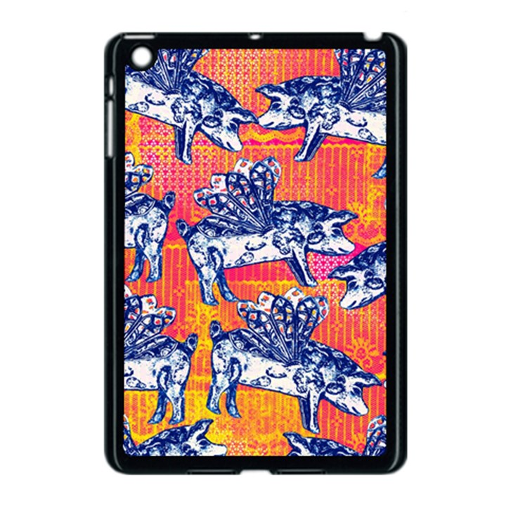 Little Flying Pigs Apple iPad Mini Case (Black)