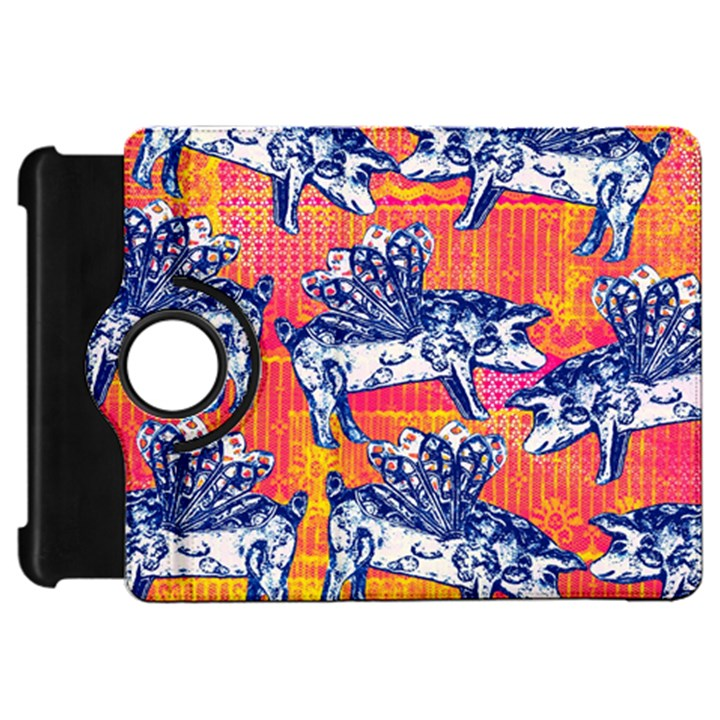 Little Flying Pigs Kindle Fire HD Flip 360 Case