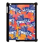 Little Flying Pigs Apple iPad 3/4 Case (Black) Front
