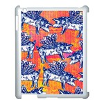 Little Flying Pigs Apple iPad 3/4 Case (White) Front