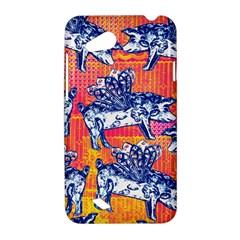 Little Flying Pigs HTC Desire VC (T328D) Hardshell Case