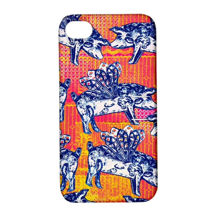 Little Flying Pigs Apple iPhone 4/4S Hardshell Case with Stand