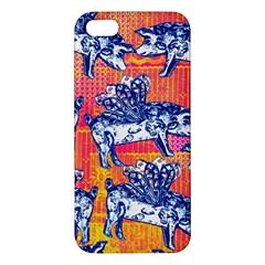 Little Flying Pigs Apple iPhone 5 Premium Hardshell Case