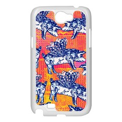Little Flying Pigs Samsung Galaxy Note 2 Case (White)