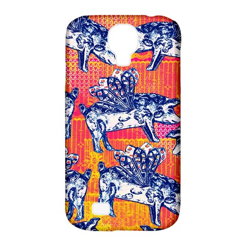 Little Flying Pigs Samsung Galaxy S4 Classic Hardshell Case (PC+Silicone)