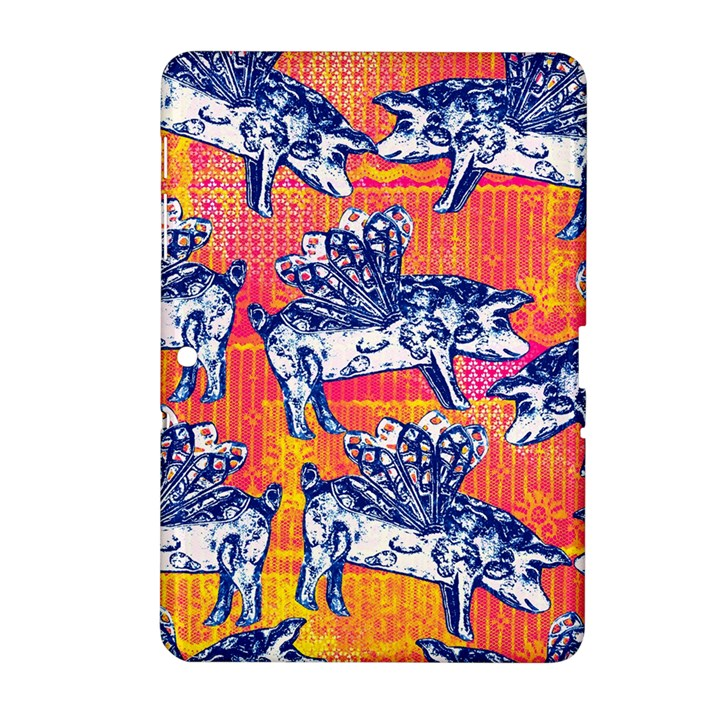 Little Flying Pigs Samsung Galaxy Tab 2 (10.1 ) P5100 Hardshell Case