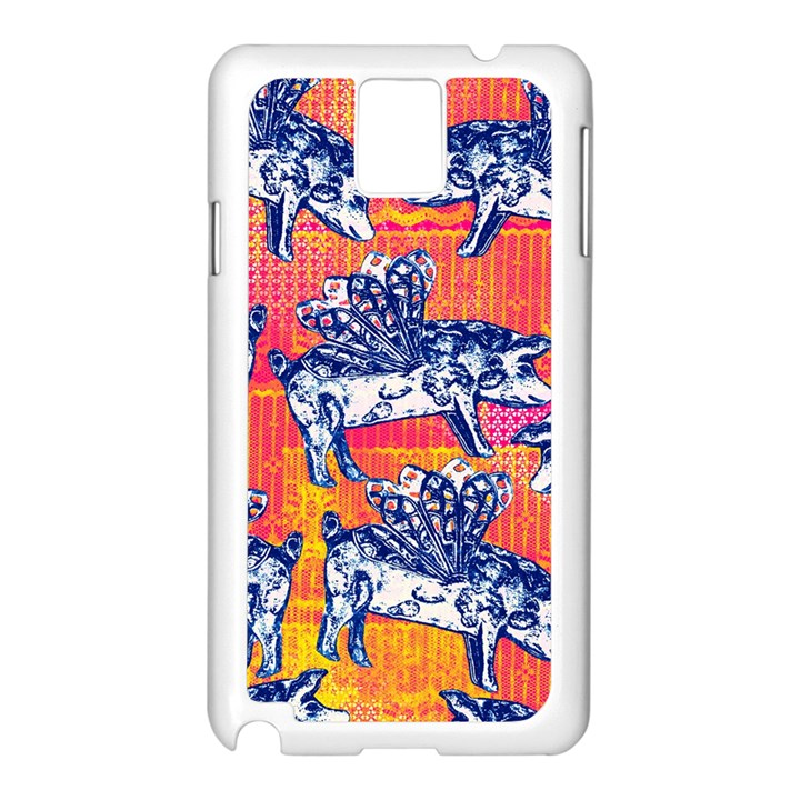 Little Flying Pigs Samsung Galaxy Note 3 N9005 Case (White)