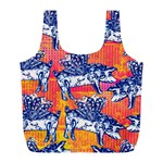 Little Flying Pigs Full Print Recycle Bags (L)  Front