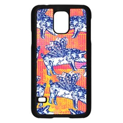 Little Flying Pigs Samsung Galaxy S5 Case (Black)