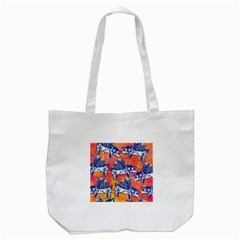 Little Flying Pigs Tote Bag (White)