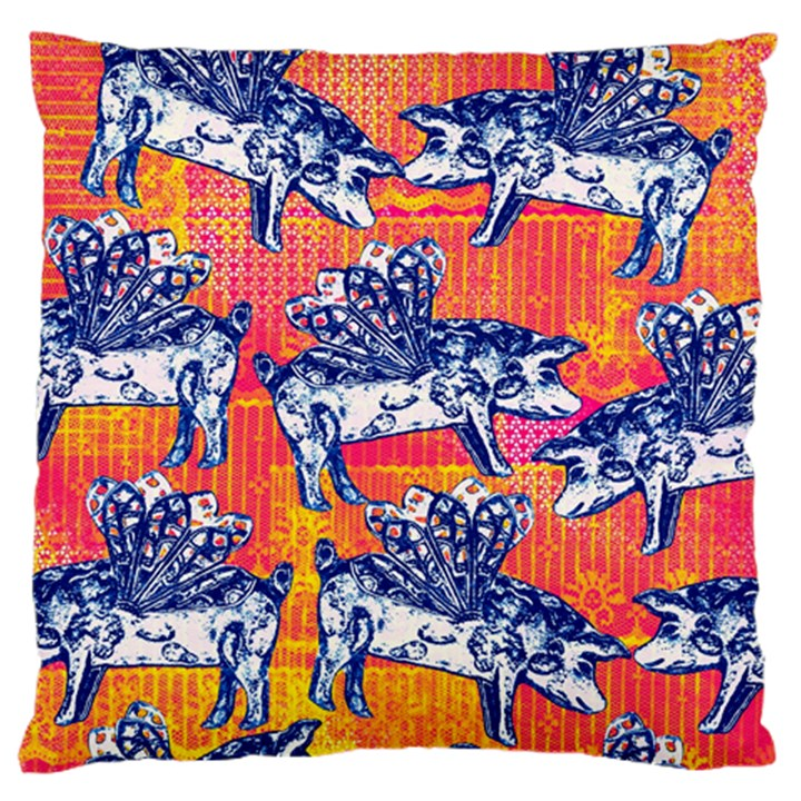Little Flying Pigs Standard Flano Cushion Case (Two Sides)