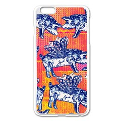 Little Flying Pigs Apple Iphone 6 Plus/6s Plus Enamel White Case