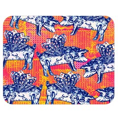 Little Flying Pigs Double Sided Flano Blanket (medium)