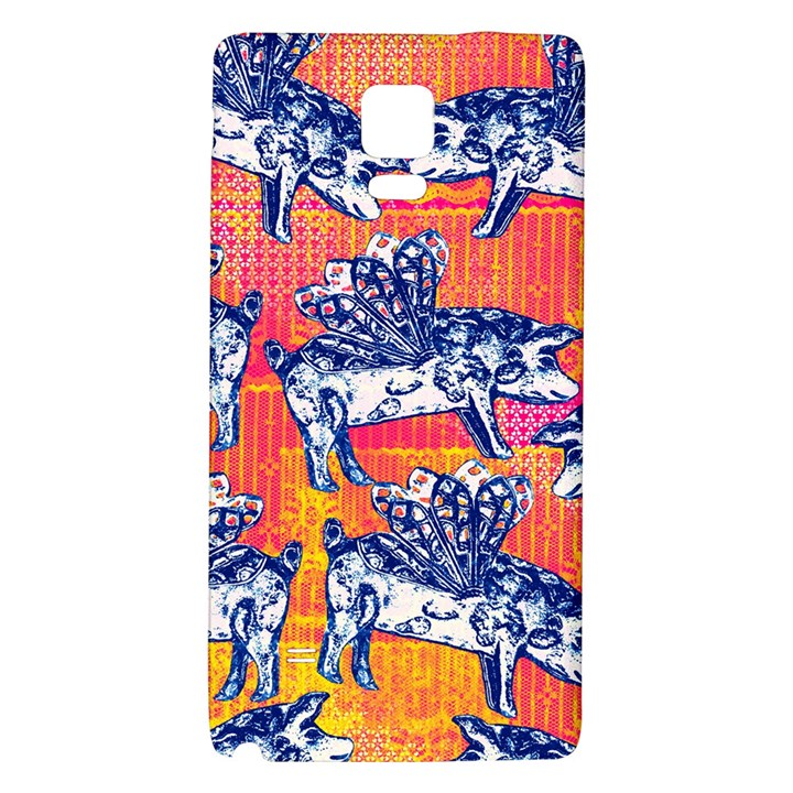 Little Flying Pigs Galaxy Note 4 Back Case