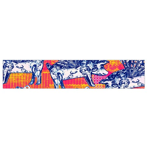 Little Flying Pigs Flano Scarf (Small)