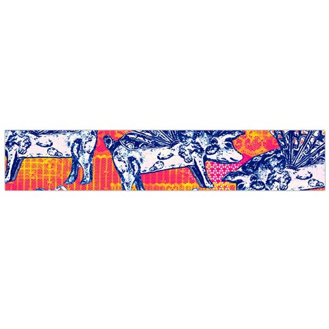 Little Flying Pigs Flano Scarf (Large)