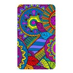 Pop Art Paisley Flowers Ornaments Multicolored Memory Card Reader Front