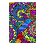 Pop Art Paisley Flowers Ornaments Multicolored Shower Curtain 48  x 72  (Small)  42.18 x64.8 Curtain