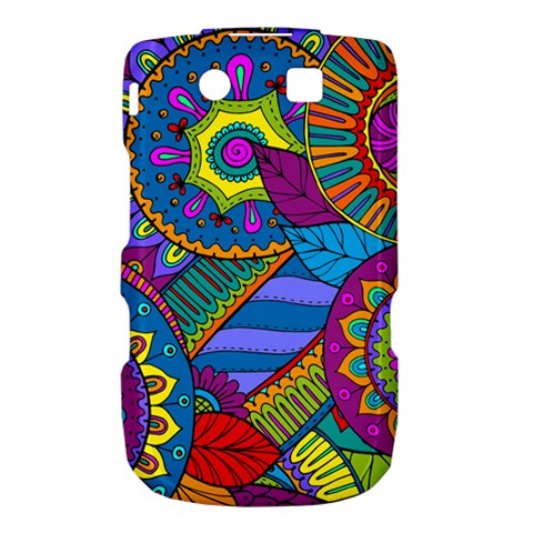 Pop Art Paisley Flowers Ornaments Multicolored Torch 9800 9810